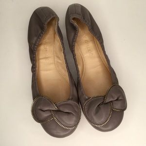 See by Chloe leather flats. Lovely great colour.